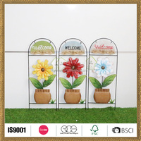 new style personalized metal garden decor line products ornaments
