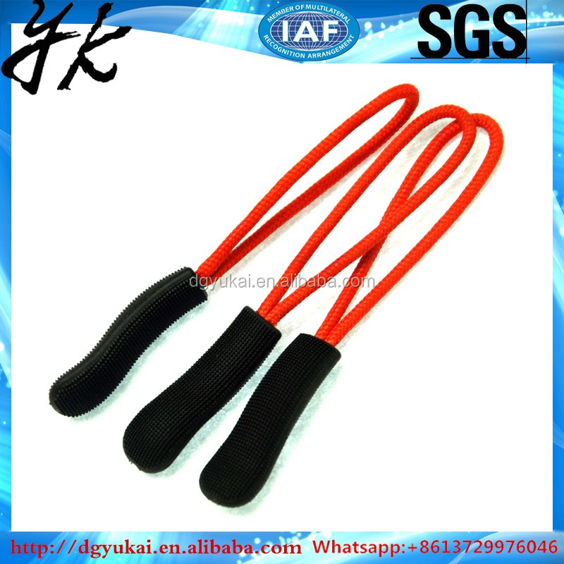 Zip Tags Cord Trekt Rits Extension Zip Slider Vervanging