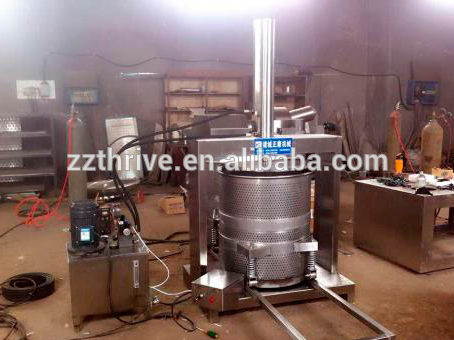 Industri apple juice extractor mesin/jus wortel mesin press hidrolik/hidrolik anggur tekan juicer