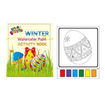 Painting Magic Watercolor Easter Egg Printable Coloring Book - Buy Coloring  Book Printable,Magic Coloring Book,Easter Coloring Book Product on ...