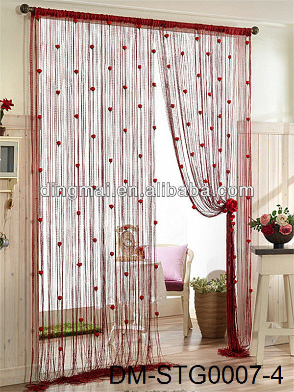 Hottest Sell Hotel String Curtains India