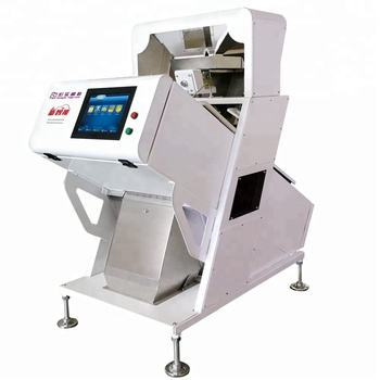 Hons+ New Design High Quality High Accuracy One Chute Multi-Functional CCD Camera Rice Color Sorter Machine Food Industry Sorter