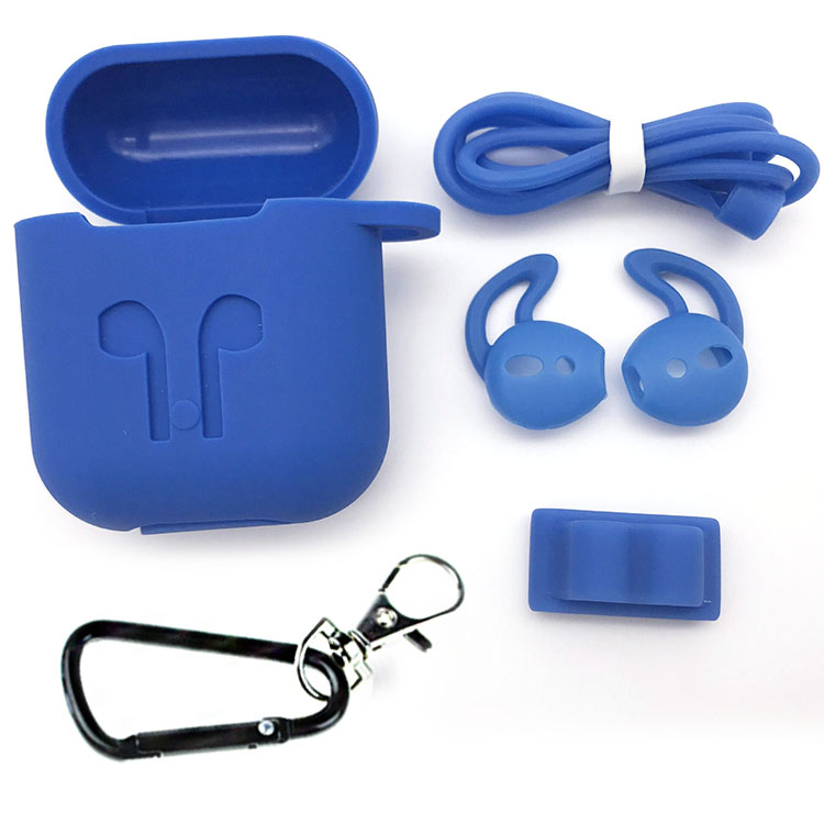 2019 best selling products silicone earhooks and cord for headphone and cover case for apple airpod фото