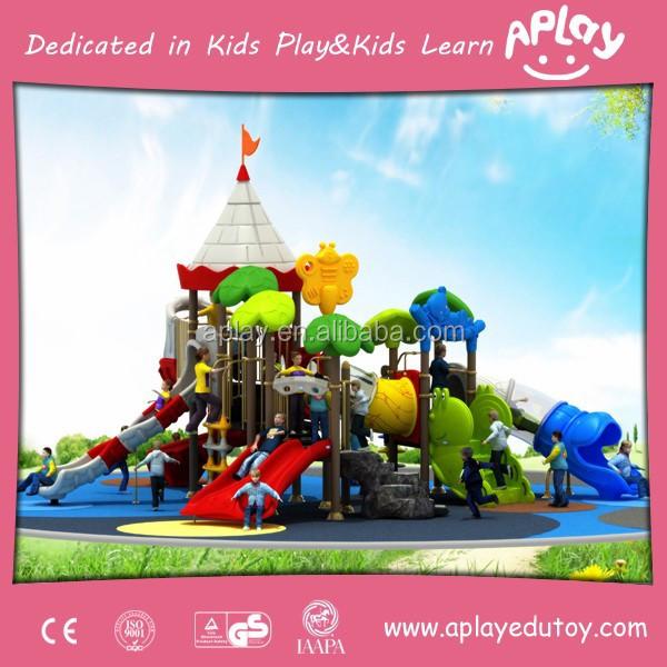 colorido encantador de los nios casa de juegos de para jugar al aire libre