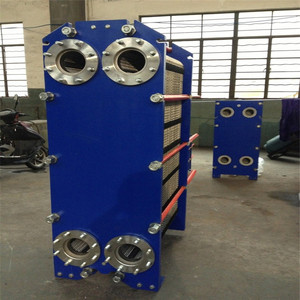 scraped surface plastic shell r410a apv n35 plate heat exchanger 10m2 core