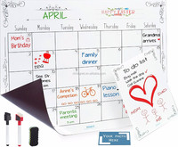 [XiangTong] Magnetic Dry Erase Calendar, Weekly Planner Set with High Quality