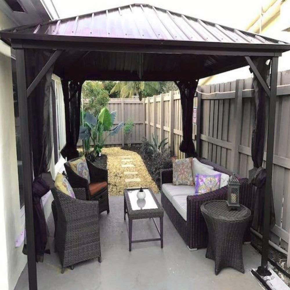 Buy Amgs Hot Tub Gazebo Canopy Patio Outdoor Tent 10x10