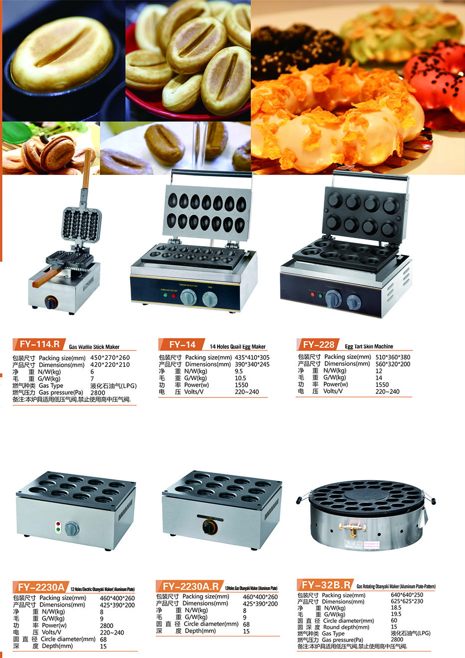 IS-FY-2248 Commercial Obanyaki Maker 48 Holes Electric Obanyaki Maker With Electrothermal Aluminium Plate
