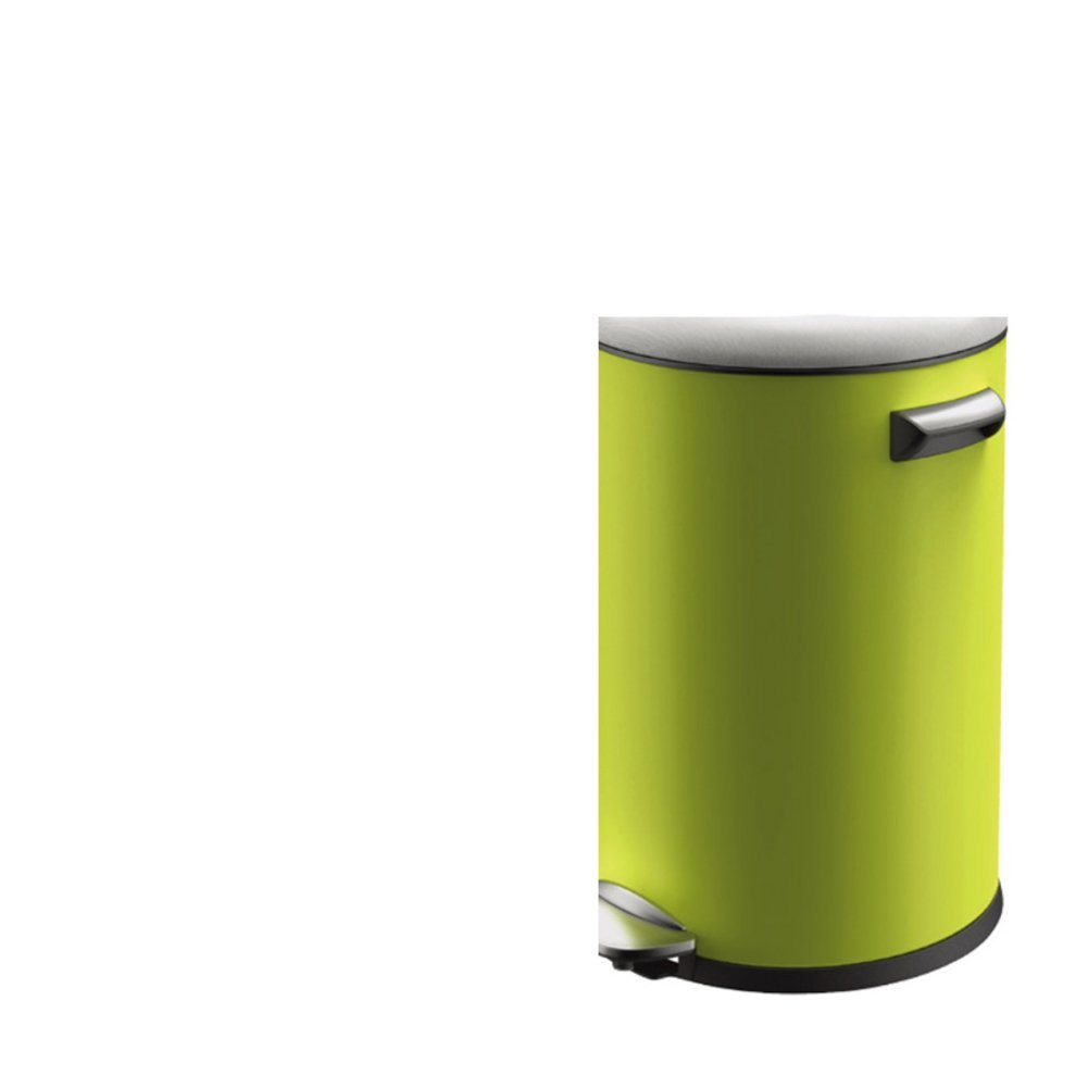 Creative simplicity home living room trash can/European-style kitchen/ bathroom trash can with lid-L