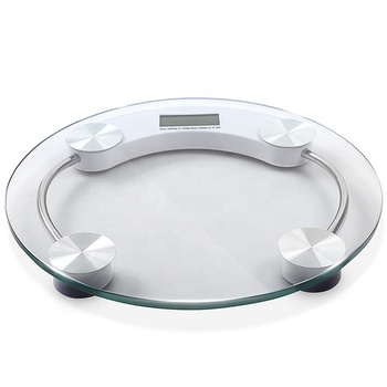 High quality body fat weighing scale in bathroom