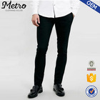2015 OEM Fashion Mens Black Skinny Fit Smart Trousers