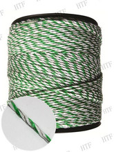 "T Post 3"" Insulator - Polywire/wire White Electric Fence"