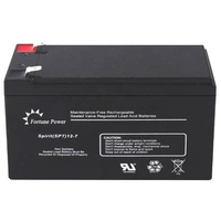 Rechargeable 12v 7ah battery backup for security system
