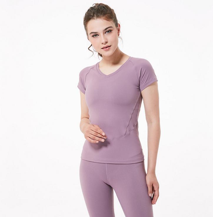Wholesale Low Quantity Sports T dry Top Custom Women T Shirts 3