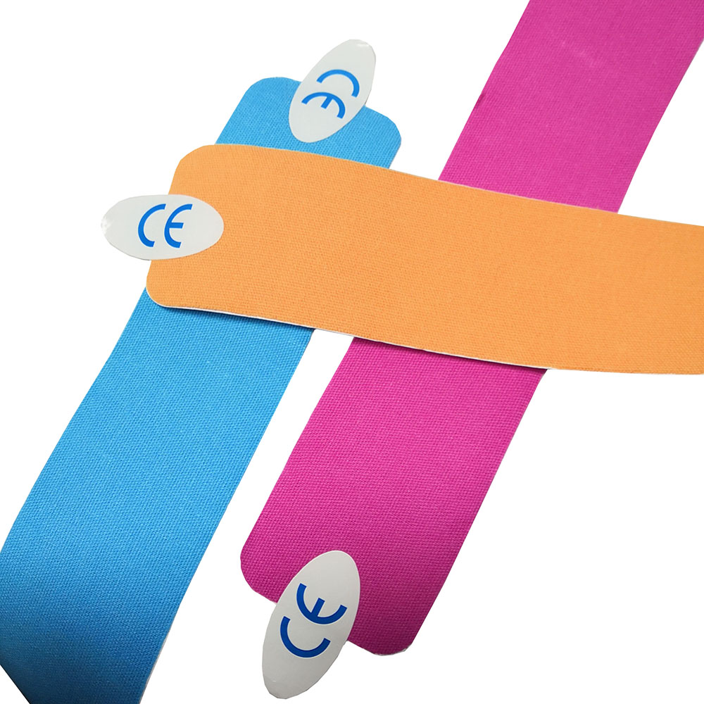 YOJO High Quality 5*5cm Adhesive Kinesiology Tape for Athletes