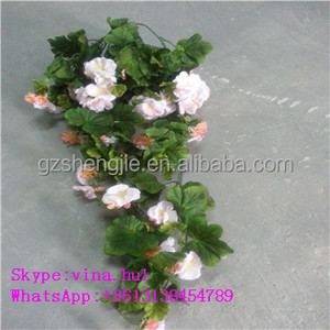 Wedding decoration artificial hangings flower rattan