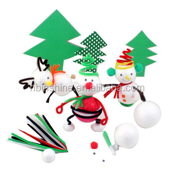 Christmas Shapes.Christmas White Foam Sponge Shapes Crafts Styrofoam Round Shapes Kids Foam Craft Kits Educational Toys For Kids Buy Cheap Educational Toys For