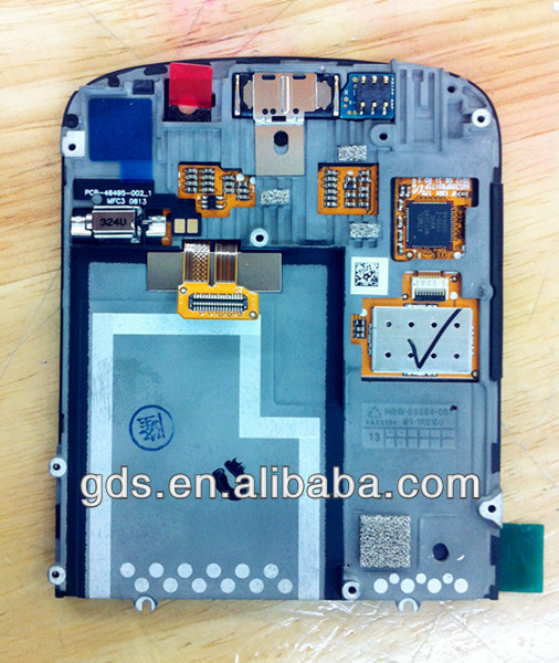 lcd digitizer touch screen Assembly with frame for blackberry Q10