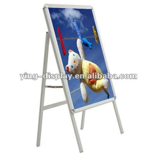 Environmental Tradeshow Custom Aluminum A1 Poster Holder