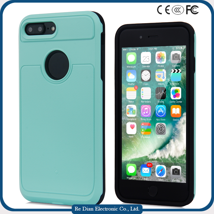 amazing mirror back aluminum metal bumper with PC back cover PC protective Case mobile phone case for iphone7 plus