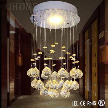 Moderne Kleine Diamond Crystal Led Lage Plafond Kristallen ...