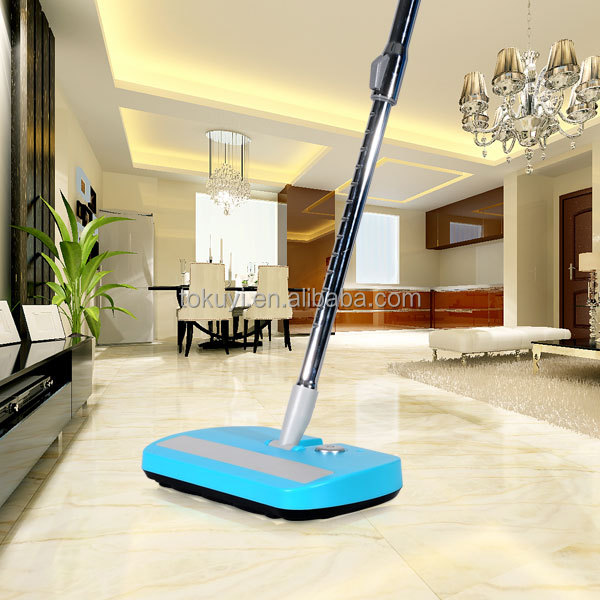 As see on TV, high-level Electric floor broom,rechargeable cordless portable sweeper