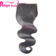 Bleach Knot 100% Human Virgin Hair Closure, Super Natural Look Full Silk Base Closure With Baby Hair