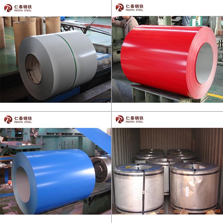 color coated cold rolled galvanized steel sheet coil