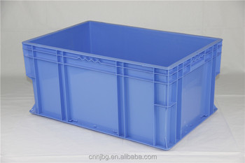 600400280mm Industrial Plastic Stacking Euro Storage Containers