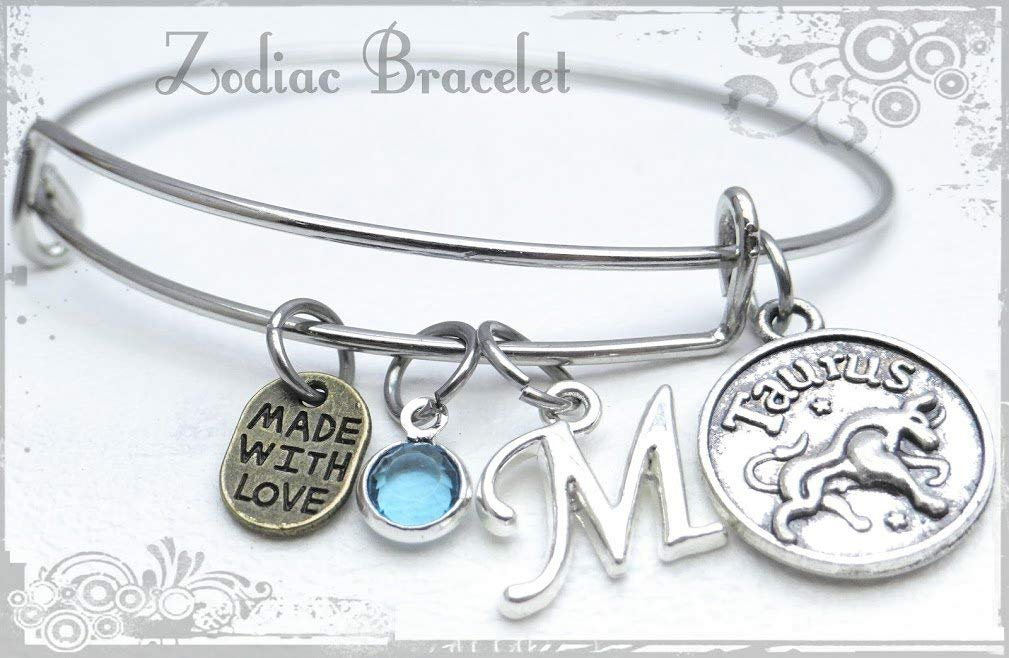 TAURUS Italian Charm Horoscope Zodiac Sign Symbol 9mm fits Classic Bracelets