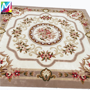 Persian Pattern Hand Tufted Wool Carpet Customized Handmade Carpet hand made Cinema Rugs