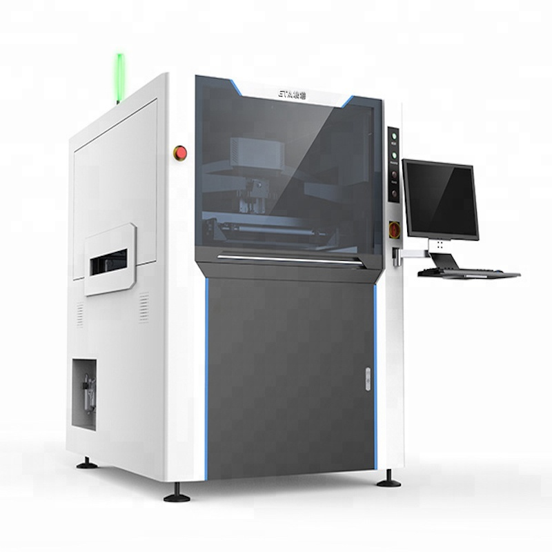 Smt Semi-auto Solder Paste Printing Machine 51