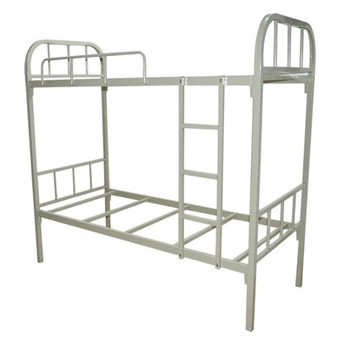 Factory Manufacture Cheap Tubular Black Iron Bunk Beds For Bedroom
