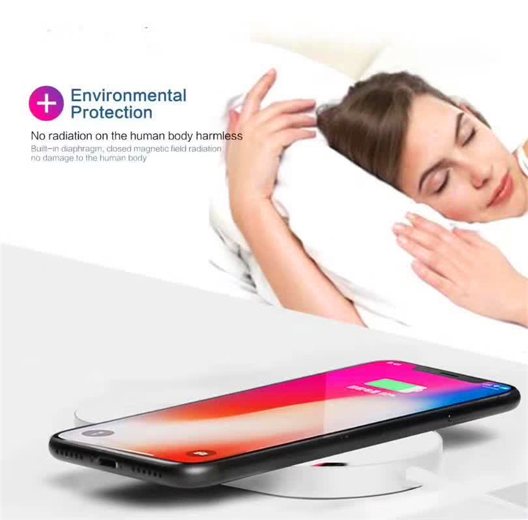 Modern Design Qi Fast Wireless Charger 7.5W Design Phone Universal Portable Qi Wireless Charger