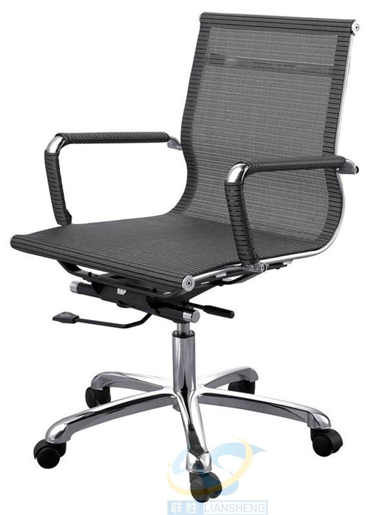 Buena calidad staples alta espalda reclinable malla silla oficina silla muebles para grandes personas