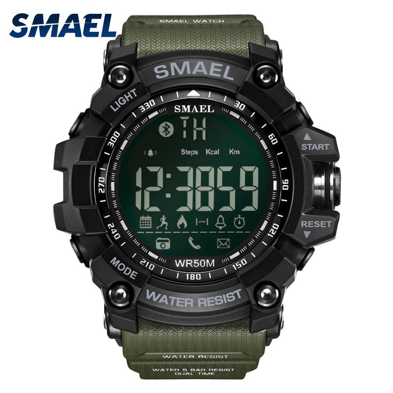 SMAEL LY1617 New Bluetooth wrist analog watch фото