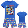2014 new Summer Outfits Cartoon minions Clothing Set Children t shirts + Shorts Sport Suit Boys Girl Kids Clothes Sets