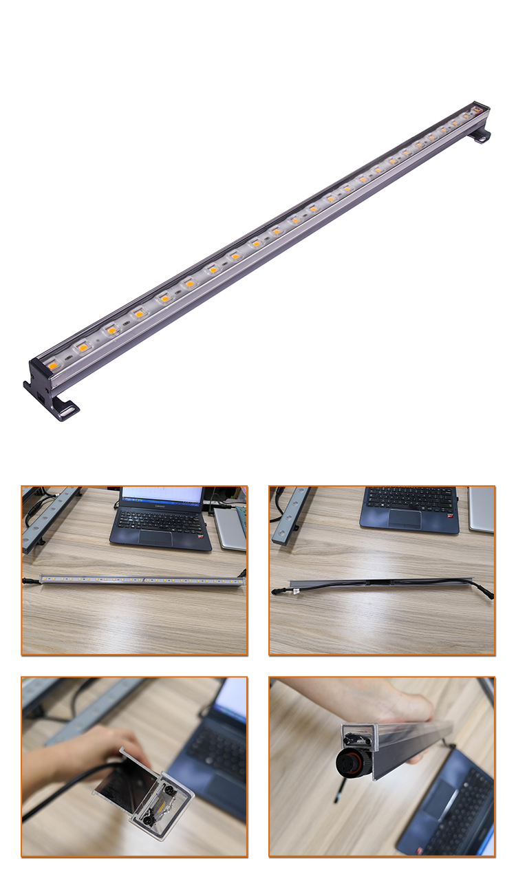 10w led fluorescent tube waterproof led tube light linear wall light