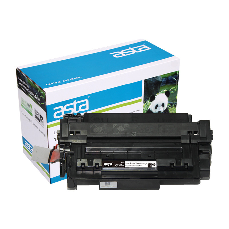 High Quality Black Toner Cartridge Q7551A For HP