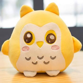 Big Eyes Owl Plush Toy Children Birthday Gift Colorful Owl Kawaii