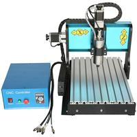 Low Cost Mini Cnc Router Wood Drilling Pcb Prototyping Milling Machine