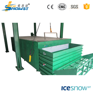 Containerized stainless steel block ice manufacturing plant