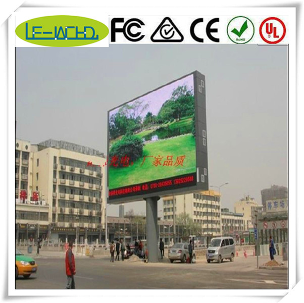 full color display module sign flashing led pizza sign p10 advertising smd outdoor led