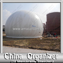 Popular Double Membrane Methane Gas Storage Tank & Auto control system for customizing