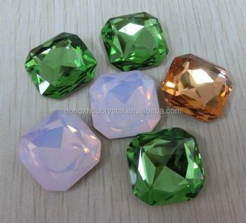 Gemstones For Decorative Bracelets Point Back Crystal Product On Alibaba