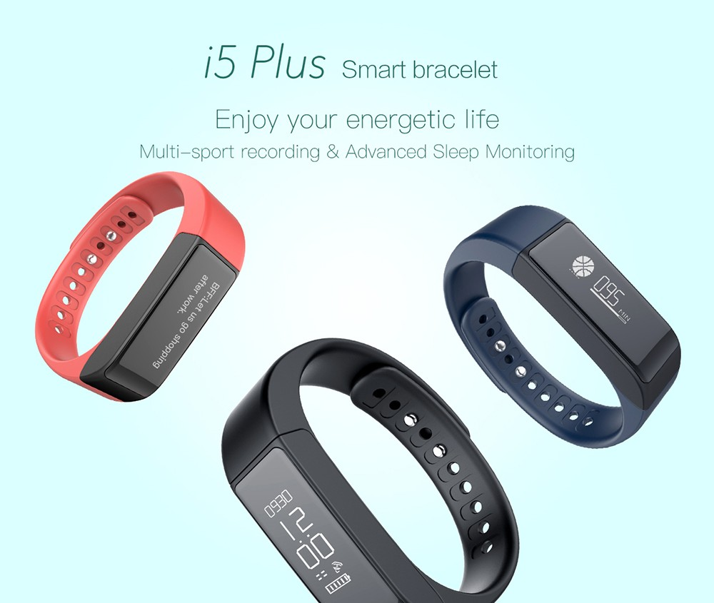 iWOWNFit i5 Plus Smart Band Smart Band Pedometer / Sleep Tracker / Message  Notification / Phone call Remind