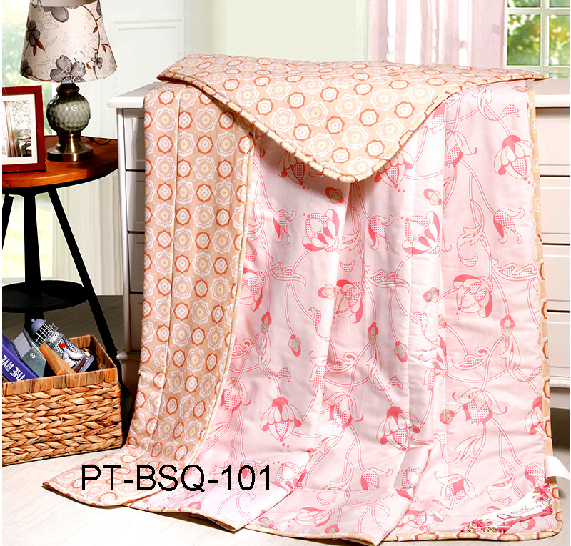 hot selling cotton softtextile summer quilt for baby