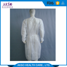 Standard Disposable Spunlace Surgical Gowns/Reinforced hospital Operating Theatre