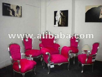 Barokke stijl en neo rococo zilveren moderne stoelen buy zilveren