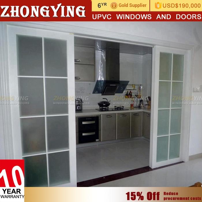 Half Pvc And Half Glass Door, Half Pvc And Half Glass Door Suppliers And  Manufacturers At Alibaba.com